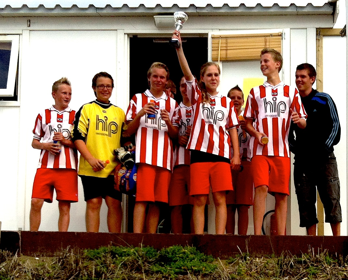 Dream team Helios 1 werd kampioen bij Voorwaarts