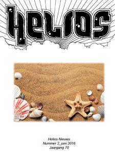 Helios Nieuws juni 2016