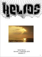 Helios Nieuws september 2018