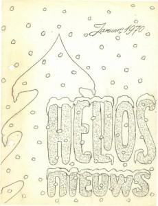 Helios Nieuws 1970 - Nummer 1 - Januari