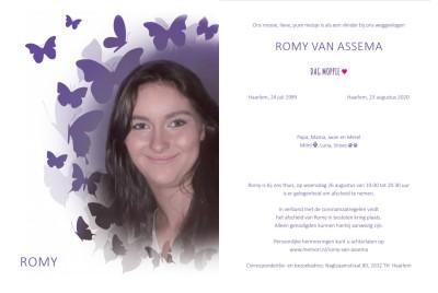 Romy van Assema